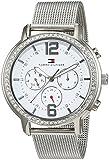 Tommy Hilfiger 1781659 - Reloj análogico de cuarzo con correa de acero inoxidable para mujer,...