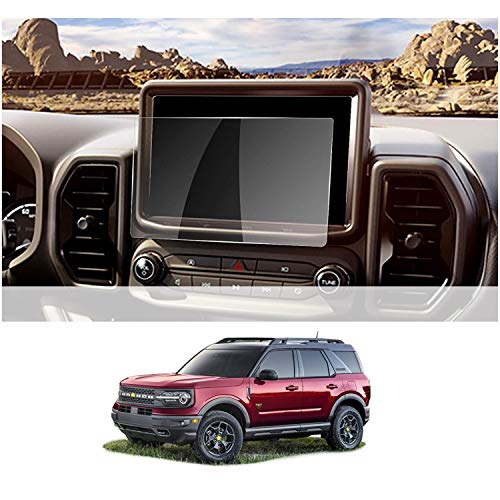 GEAMCAR Screen Protector Compatible with Ford Bronco sport 2021 [Compatible with 8 Inch Touchscreen] - Tempered Glass Compatible With Ford Bronco sport