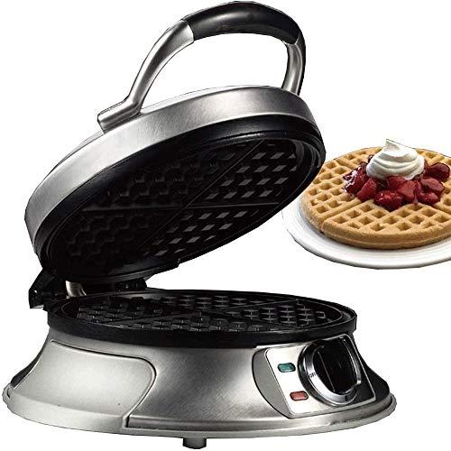 Gofrera sandwichera 1000W 3 Premium En 1 Sandwich Panini Maker y Belgian Waffle Maker, Deep Cocinar Placas de temperatura ajustable de control