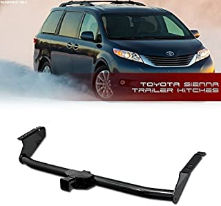 VXMOTOR for (04-16 Toyota Sienna) L LE SE XLE V6 Premium Limited Minivan AWD - Class 3 III - Trailer Towing Hitch Mount Receiver Rear Bumper Utility Tow KIT 2