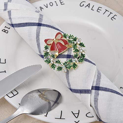 duhe189014 Serviettenringe, Serviettenschnalle Multifunktions Handtuch Serviettenring Für Zuhause Honest