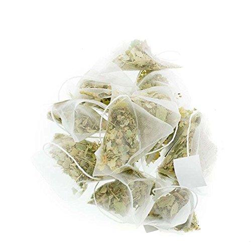 Aromas de Té - Tila Infusión Relajante 100% Natural - Efecto Relajante - Infusión Natural - Propiedades Digestivas - En Bolsitas - Sin Gluten - 10 Pirámides