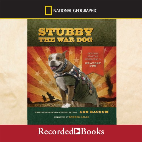 Stubby the War Dog audiobook cover art