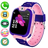 Kids Music Smart Watch Phone for Student, Smartwatch [SD Card Included] 1.54 inch Touch Screen Watches 2 Way Calls with Alarm Clock Camrea Game Calculator for 3-12 Years Old Boys Girls Birthday Gift