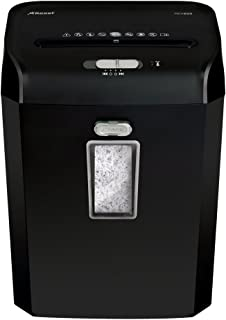 Rexel Promax 6 Sheet Manual Cross Cut Shredder for Personal or Executive Use (Up To 2 Users), 23L Bin, Extended Run Time, ...