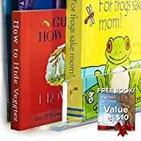 CLOUDZERO Unbreakable Premium Acrylic Floating Bookshelf - Wall Mounted Shelf Invisible Wall Book Shelves for Kids 1/4 inch Thick | 26 38 Inches | Free Book & Hardware incl