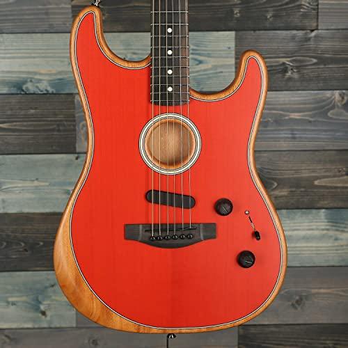 Fender Acoustasonic Stratocaster Dakota Red w/Premium Gig Bag