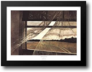 Wind from the Sea 34x26 Framed Art Print by Wyeth, Andrew
