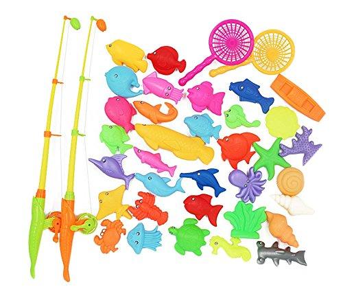40 Pièces jouets de pêche pour les enfants/beaux joujoux de poissons, NO.4