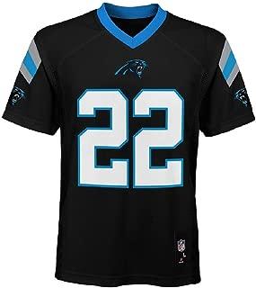 Outerstuff Christian McCaffrey Carolina Panthers NFL Kids 4-7 Black Home Mid-Tier Jersey