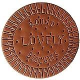 Gifts UK Novedad perfumada galleta de chocolate con forma de galleta lindos cuadernos de tapa dura libretas libretas de notas blocs de notas 1 unid
