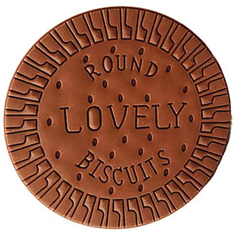 Gifts UK® - Blocco note note note note note note note e biscotti profumati, a forma di biscotto al cioccolato, 1 pezzo