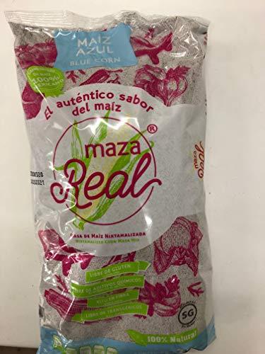 メキシコ産マサ(青)1kg  MASA REAL AZUL(マサレアル) とうもろこし粉