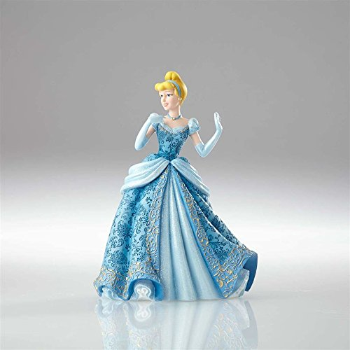 Disney 4058288 Showcase Couture de Force Cinderella Stone Resin Figurine, multicolour, 16 x 14 x 21 cm