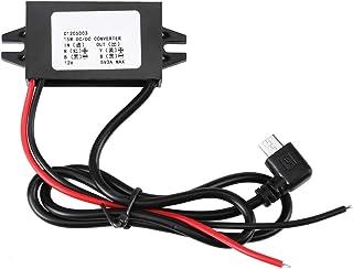 DC DC 12V bis 5V 3A Micro USB Wandler Spannungs Abwärtsregler wasserdichte Stromrichter für das Auto Smartphone
