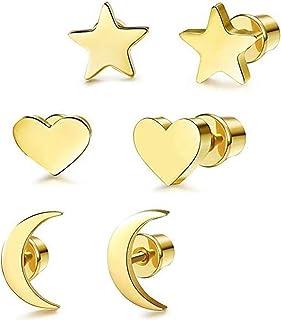 0221a96acd5f Amazon.es: 3 corazones - Pendientes / Mujer: Joyería