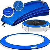 Kesser - Trampolin Randabdeckung Ø 305 cm, 30cm breit 100% UV-beständig reißfest Federabdeckung Farbe: Blau