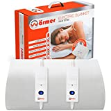 Wärmer Electric Blanket King Size - Dual Control, Fully Fitted Mattress Cover