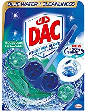 DAC Blue Active Eucalyptus Toilet Rim Block - 50 g