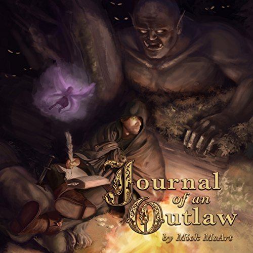 Journal of an Outlaw audiobook cover art