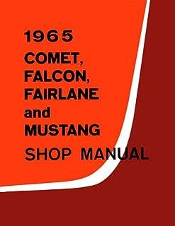 bishko automotive literature 1965 Comet Fairlane Falcon Mustang Shop Service Repair Manual Engine Electrical