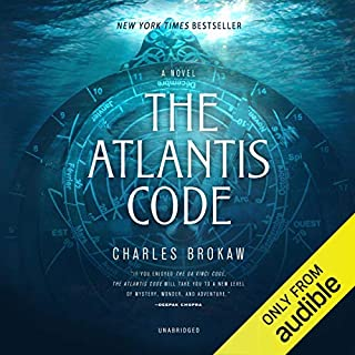 The Atlantis Code audiobook cover art