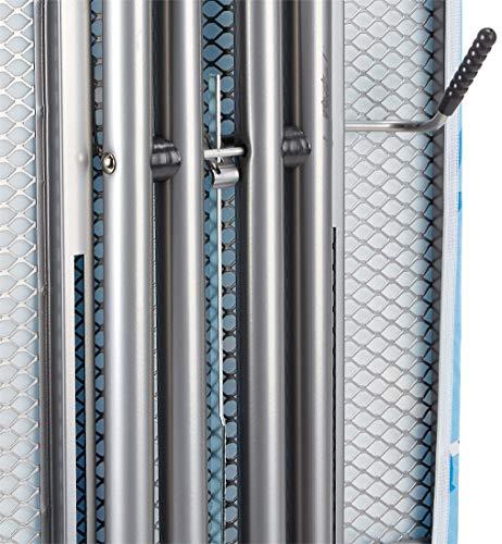 Vileda Viva Express Eco Bügeltisch blau – 120×38 cm große, dampfdurchlässige Bügelfläche – Anti-Rutsch-Füße für mehr Halt auf glatten Böden - 9