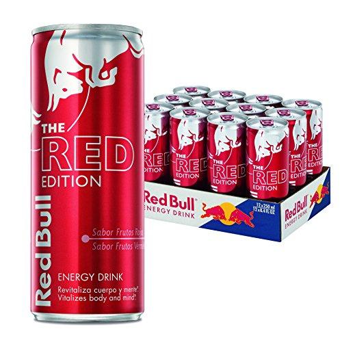 Pack de 12 Latas de Red Bull Frutos Rojos