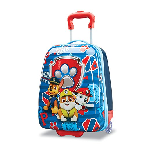 American Tourister Kids' Disney Hardside Upright Luggage, Paw Patrol, Carry-On 18-Inch