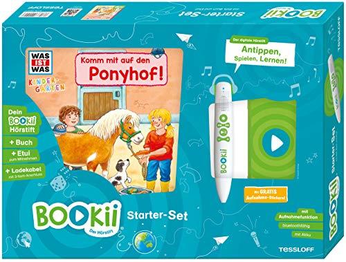 BOOKii® Starter-Set. WAS IST WAS Kindergarten. Komm mit auf den Ponyhof!