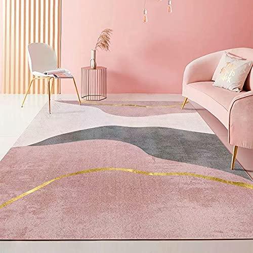 Living Room Modern Carpets (140*200CM)Kids Room Rug Modern Short Pile Room Large Size Bedroom(Carpet EC26)