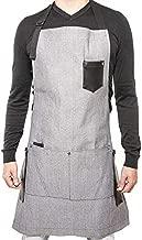 Apron for restaurant, uniform for waitress, bartender - grey