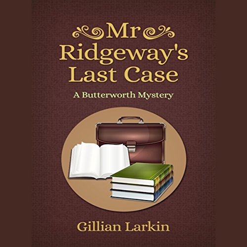 Mr Ridgeway's Last Case audiobook cover art