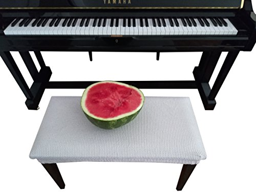 Best Review Of Qualitrusty Waterproof Piano Bench Cover - Perfect For Pets, Kids, Elderly, Weddings,...