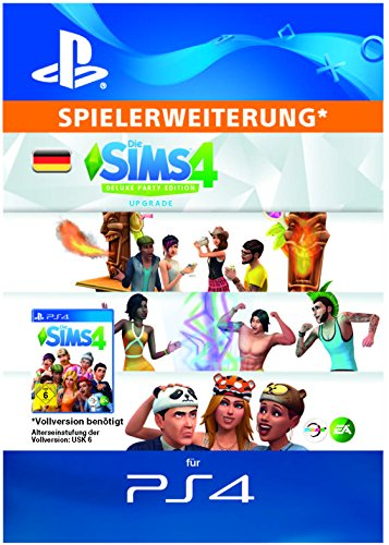 Die Sims 4 - Deluxe Party DLC | PS4 Download Code - deutsches Konto
