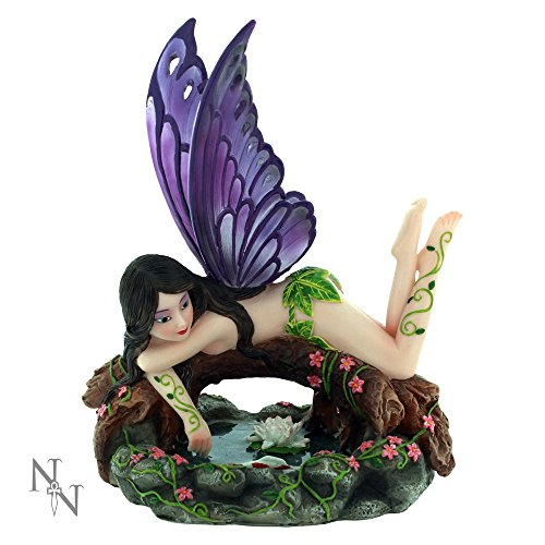 Nemesis Now Aletheia - Figura Decorativa (15 cm, Resina), Color Morado
