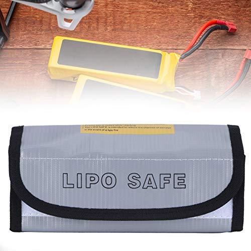 Bolsa segura para batería, bolsa plateada para batería para el hogar para batería