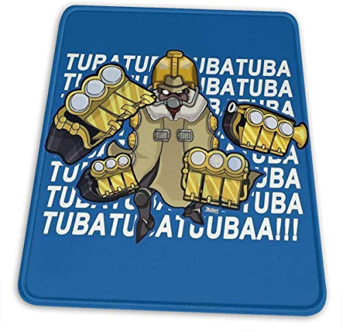 Big Band Tuba Tuba Tuba (Skullgirls) Hemming The Mouse Pad 10 X 12 Inch Esports