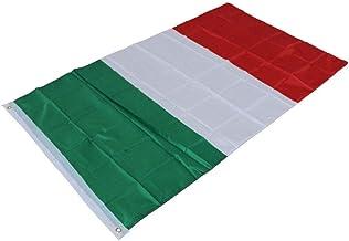 MoonyLI Italiaanse vlaggen 90 * 150cm Italiaanse nationale vlaggen Banner Garden vlag van Italië