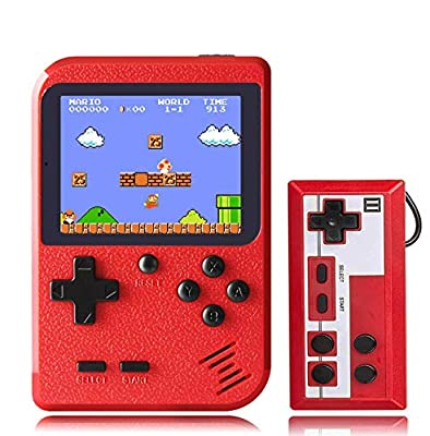 KINOEE Handheld Game Console Retro Mini Game Player with 400 Classical FC Games 2.8-Inch Color Screen Support for Connecting TV and Two Players? Present for Kids and Adult… by KINOEE