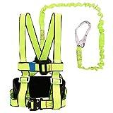 Arnés De Escalada Sentado Busto Cinturón Cinturón Asiento De Seguridad Equipo De Equipo De Rappel Rescate De Deportes Al Aire Libre