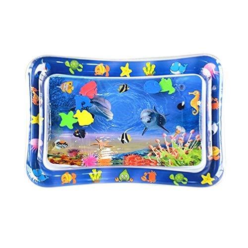 Agua Diversión al aire libre Plataforma de splash, splash de agua portátil alfombra de juego for niños, pista de juego, spraypad agua de los niños, juguete de la almohadilla de chapoteo del agua Jugue