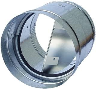 Speedi-Products AC-BD 04 4-Inch Diameter Galvanized Back Draft Prevention Damper