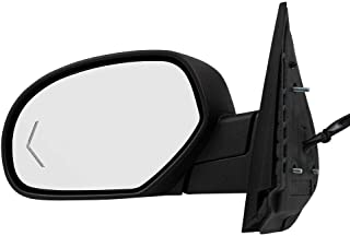 Passenger Power Folding Mirror Heated Signal on Glass for 09-13 Silverado Sierra