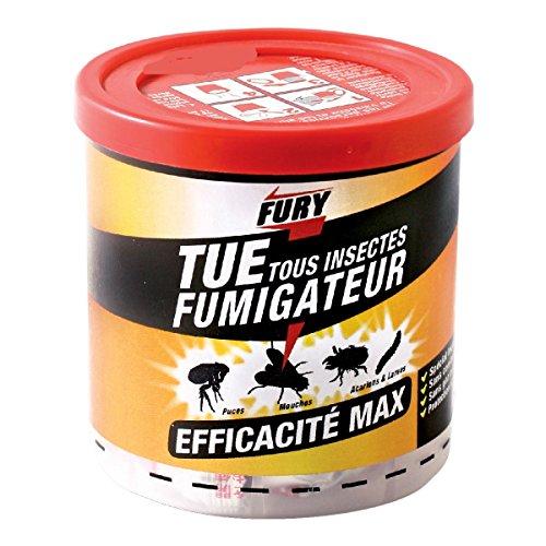 PROVEN ORAPI Fury Fumigateur, Blanc, 8 x 9 x 8 cm