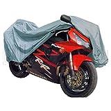 Lona para moto, tamaño total para moto en el garaje