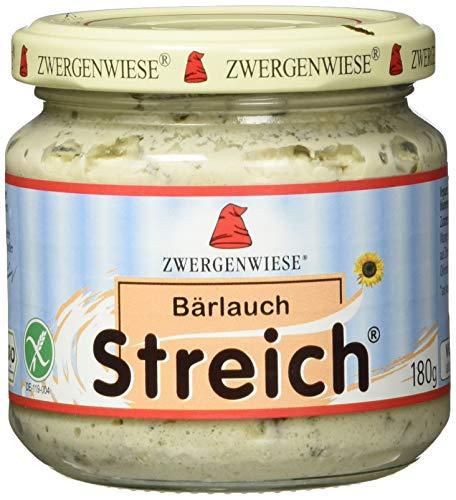 Zwergenwiese Bio Aufstrich Bärlauch Streich, 180 g
