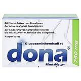 dona 750 mg Tabletten bei Arthrose des Kniegelenks, 84 St. Tabletten