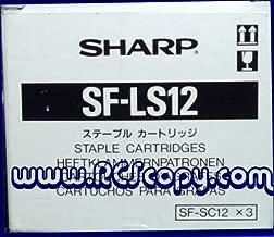 Genuine Sharp AR-280/AR-285/AR-286/AR-287/AR-335/AR-336/AR-337/AR-405/AR-407/SF-2020/SF-2116/SF-2118/SF-2120/SF-2216/SF-2220/SF-2320 Staples SFLS12 (3) Cartridges per Box