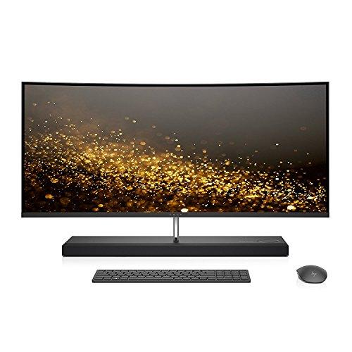 "Latest HP ENVY 34 CURVED Desktop 2TB SSD 32GB RAM (Intel Core i7-7700T processor TURBO to 3.80GHz, 32 GB RAM, 2 TB SSD, 34"" WQHD LED(3440x1440),Win 10) PC Computer All-in-One"